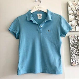 LACOSTE Sky Blue Classic Polo